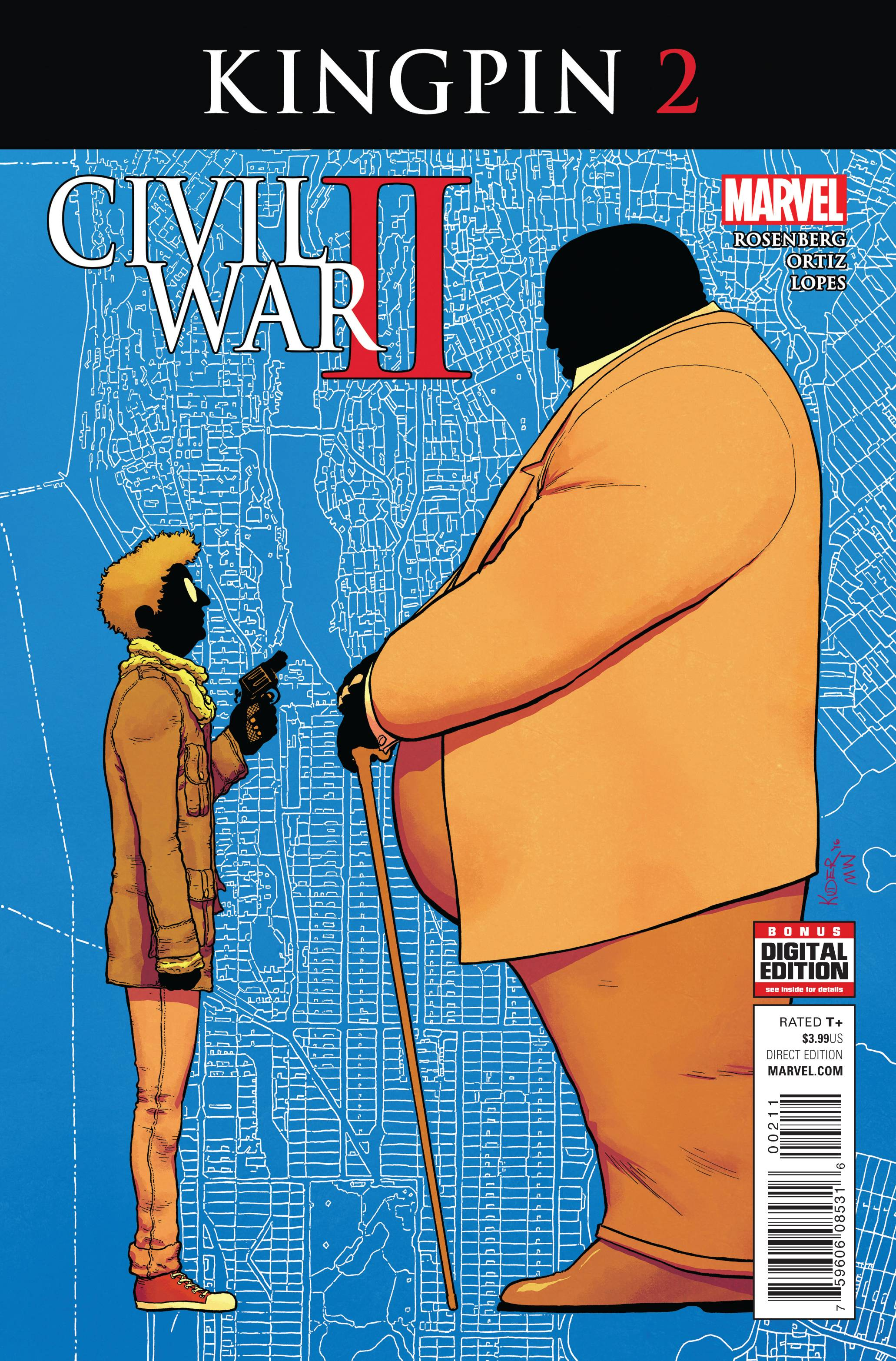 Civil War II: Kingpin 2 Comic Book NM | Digital Heroes