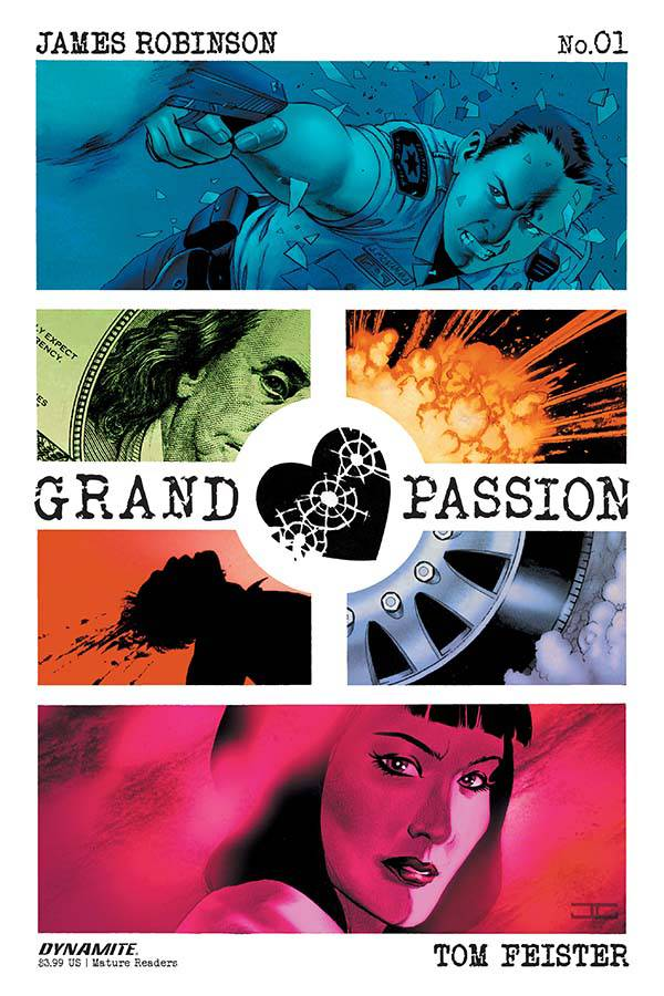 Grand Passion 1 Var A Comic Book NM | Digital Heroes