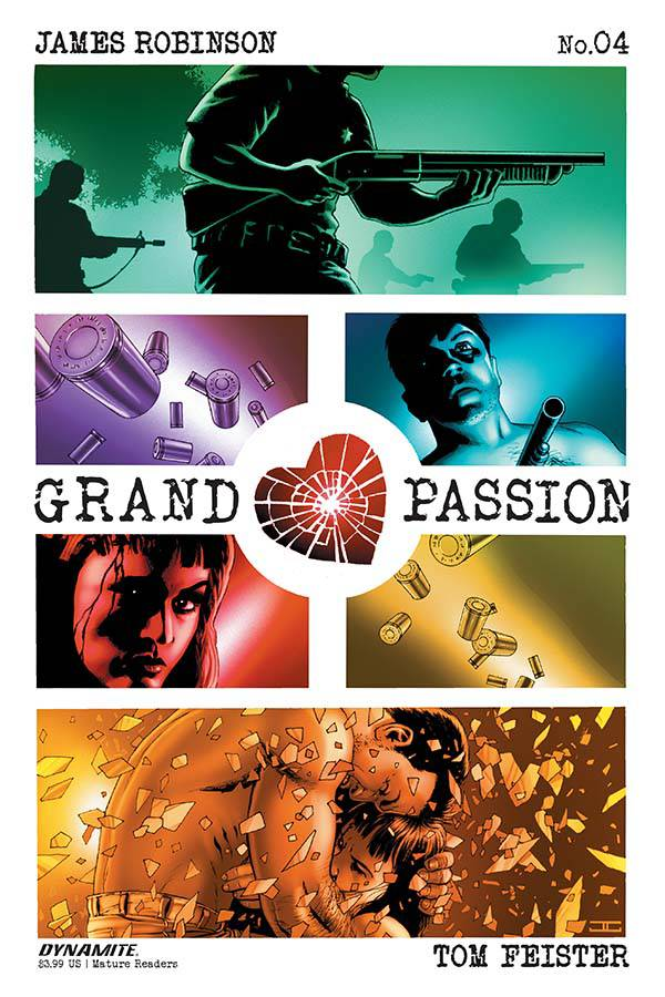 Grand Passion 4 Var A Comic Book NM | Digital Heroes