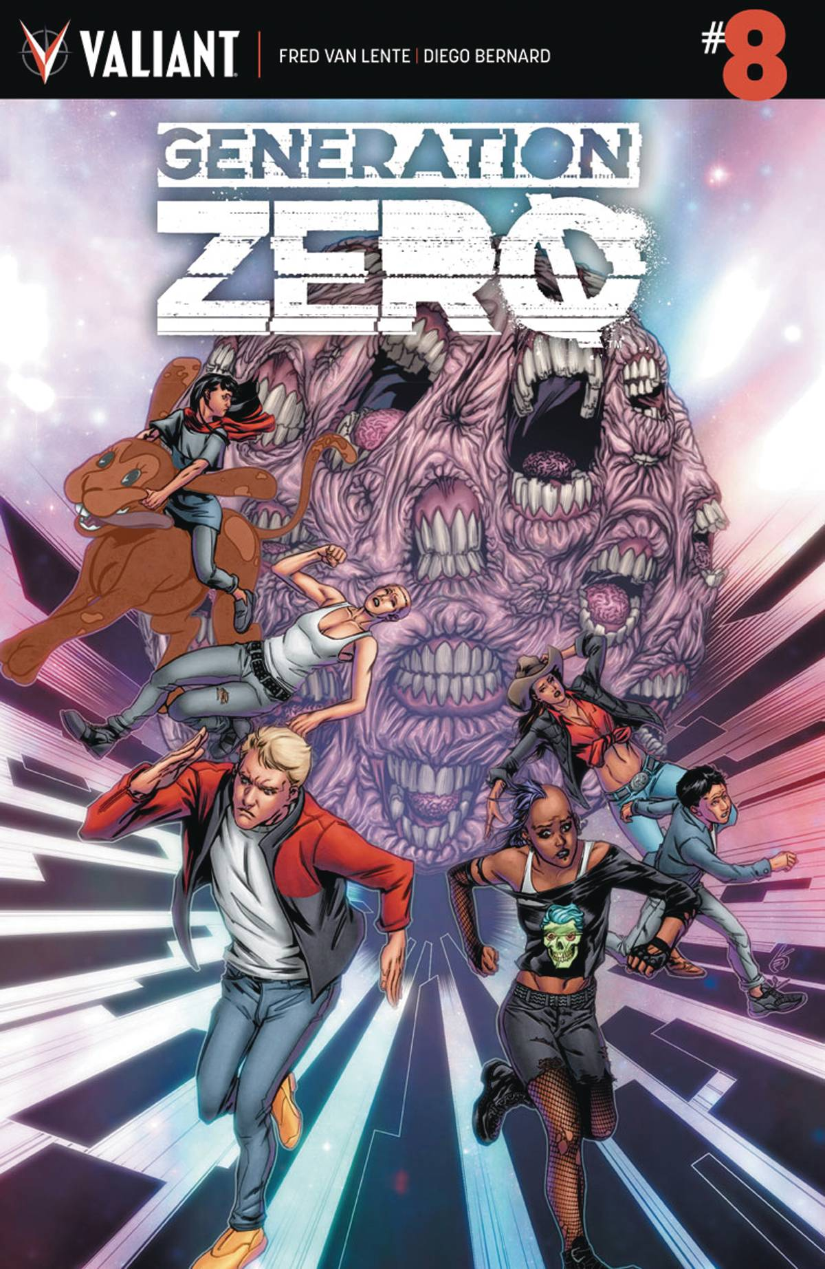 Generation Zero (Valiant) 8 Var A Comic Book NM | Digital Heroes