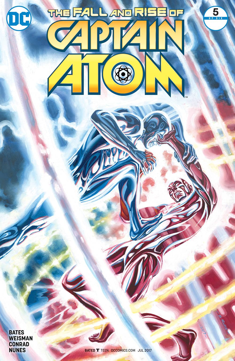 Fall and Rise of Captain Atom 5 Comic Book NM | Digital Heroes