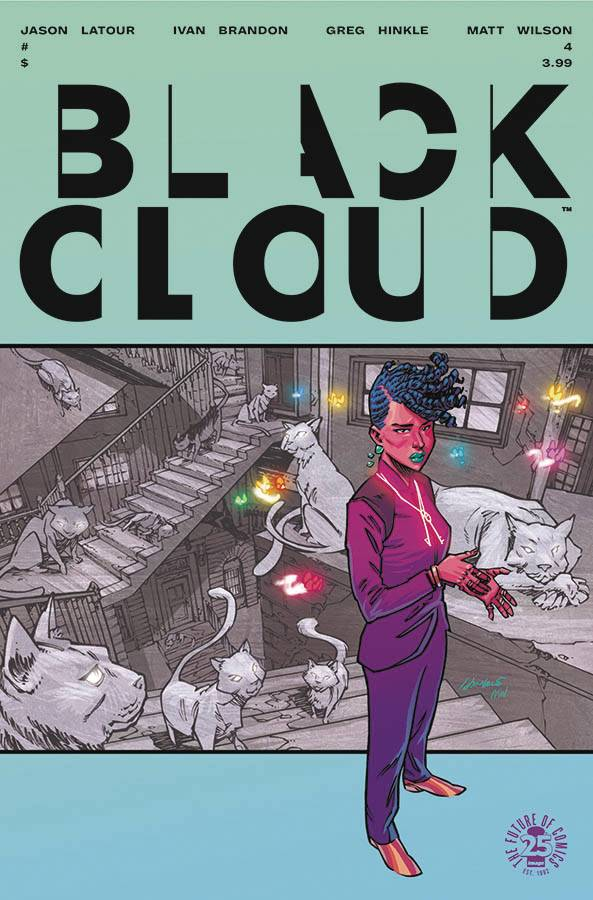 Black Cloud 4 Comic Book NM | Digital Heroes