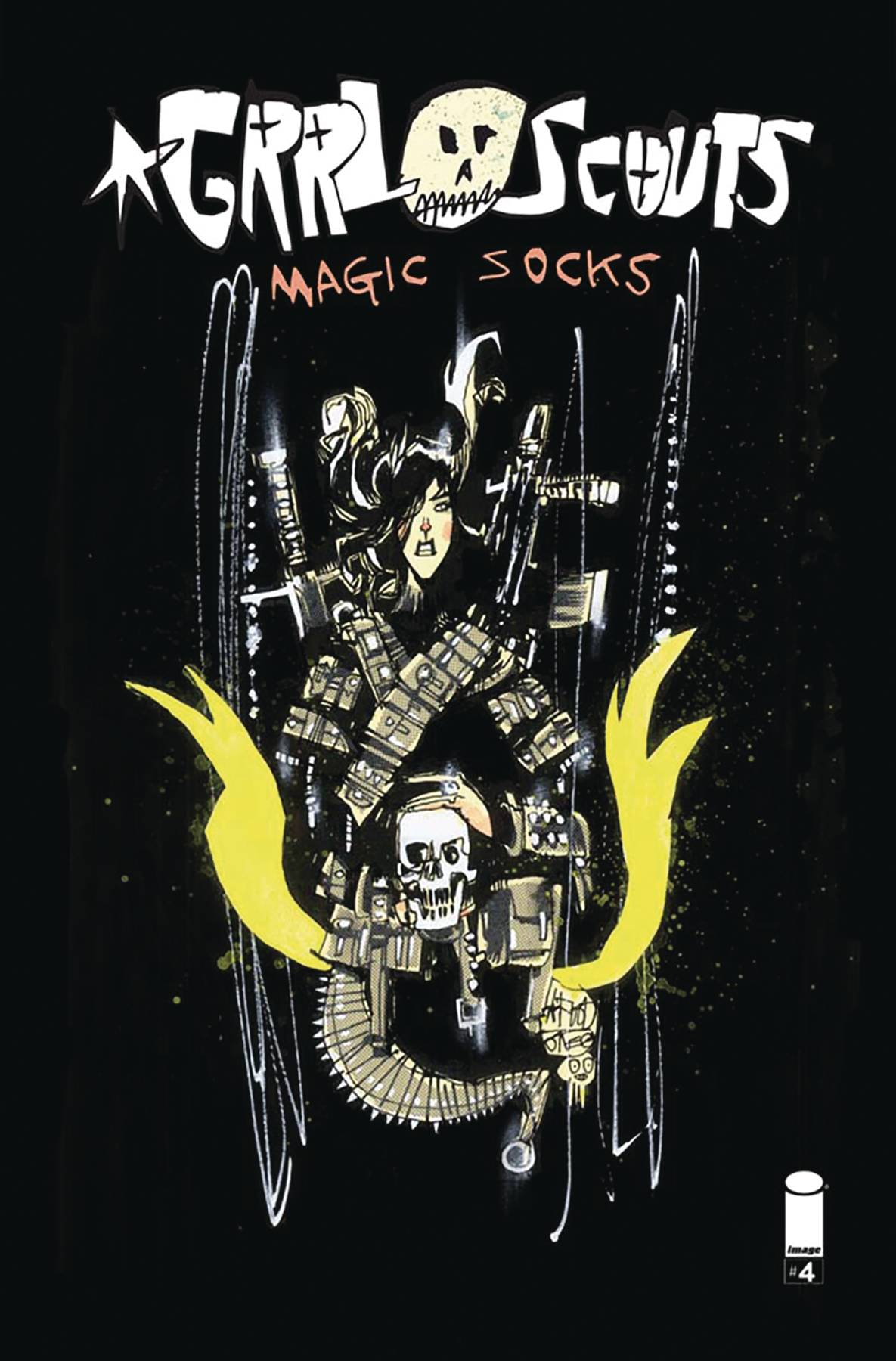 Grrl Scouts: Magic Socks 4 Var A Comic Book NM | Digital Heroes