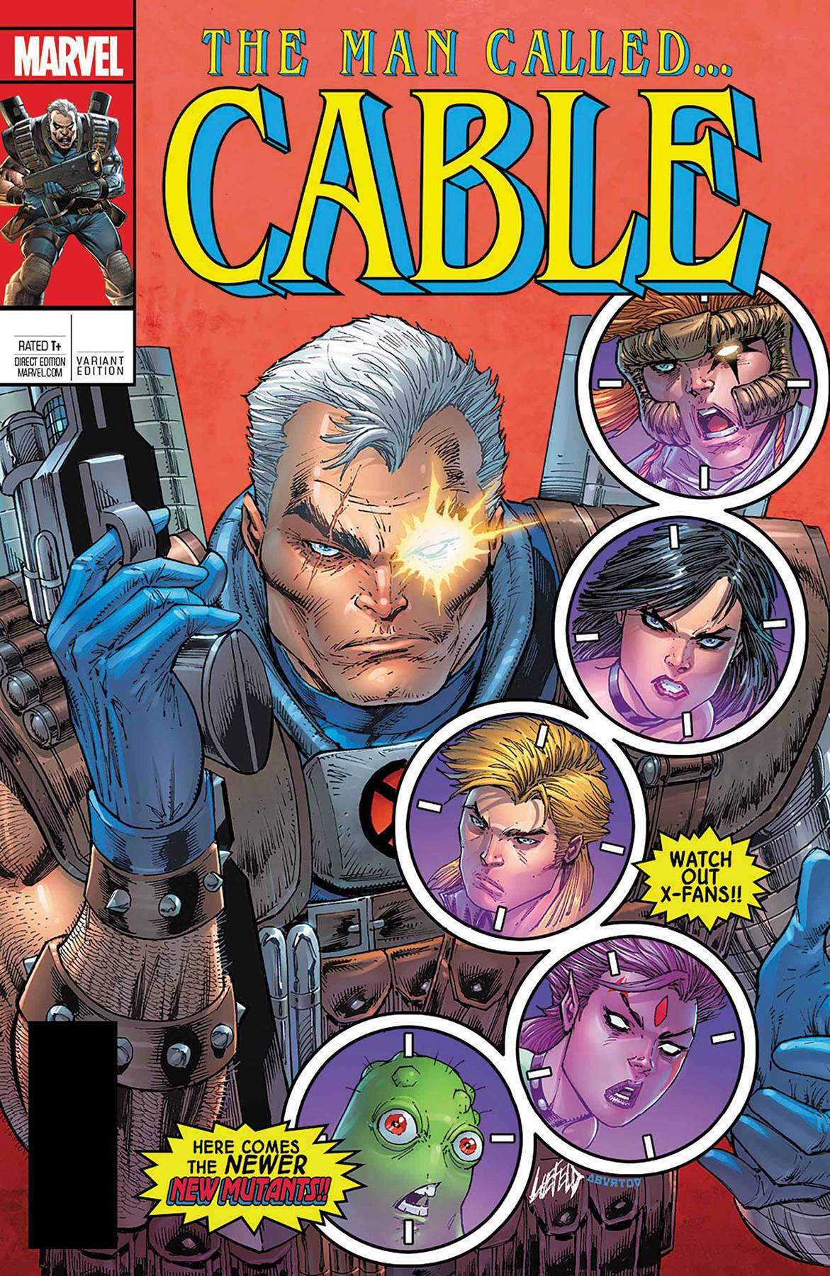 Cable 150 Var A Comic Book NM | Digital Heroes