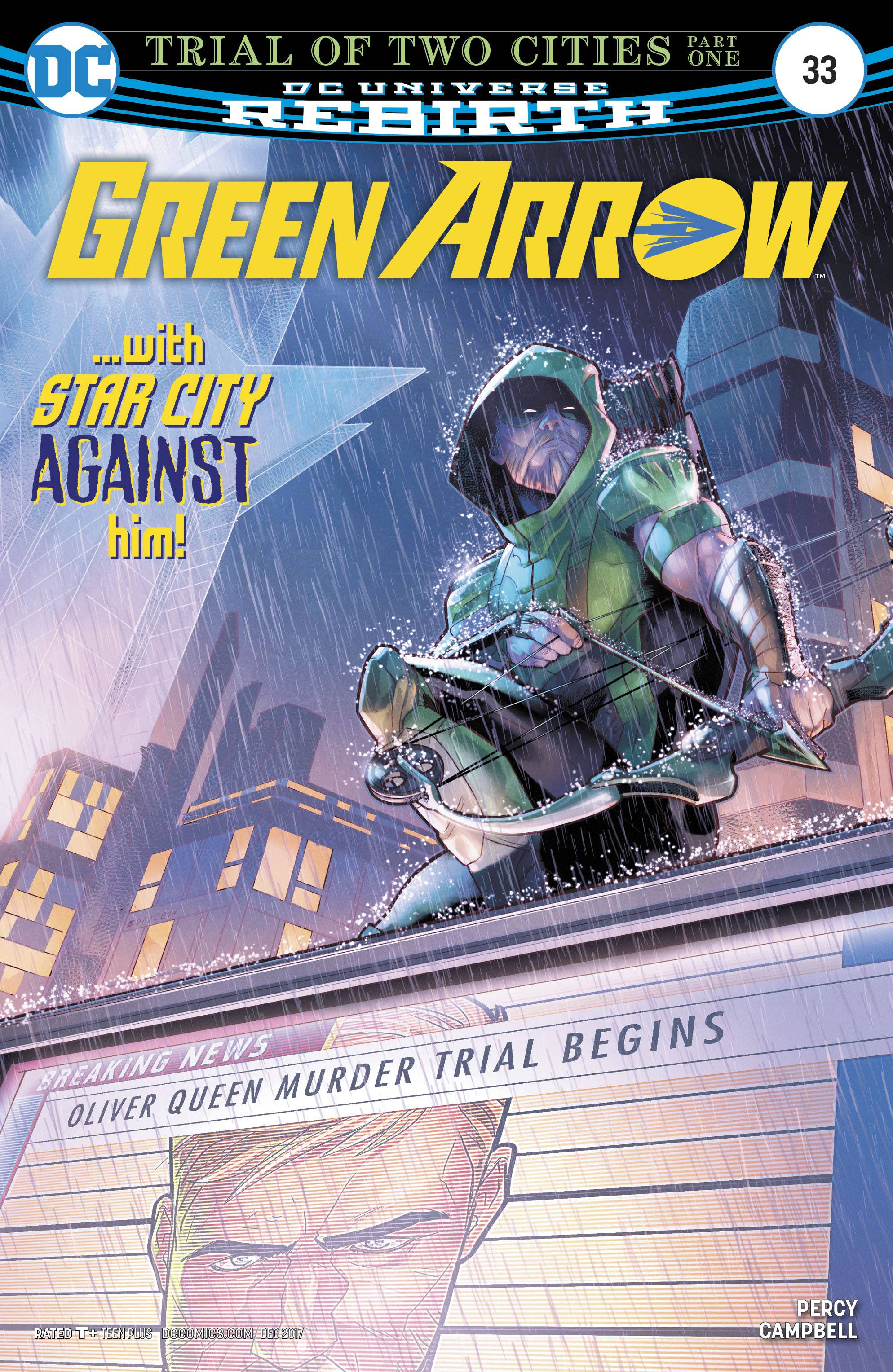 Green Arrow (6th Series) 33 Comic Book NM | Digital Heroes