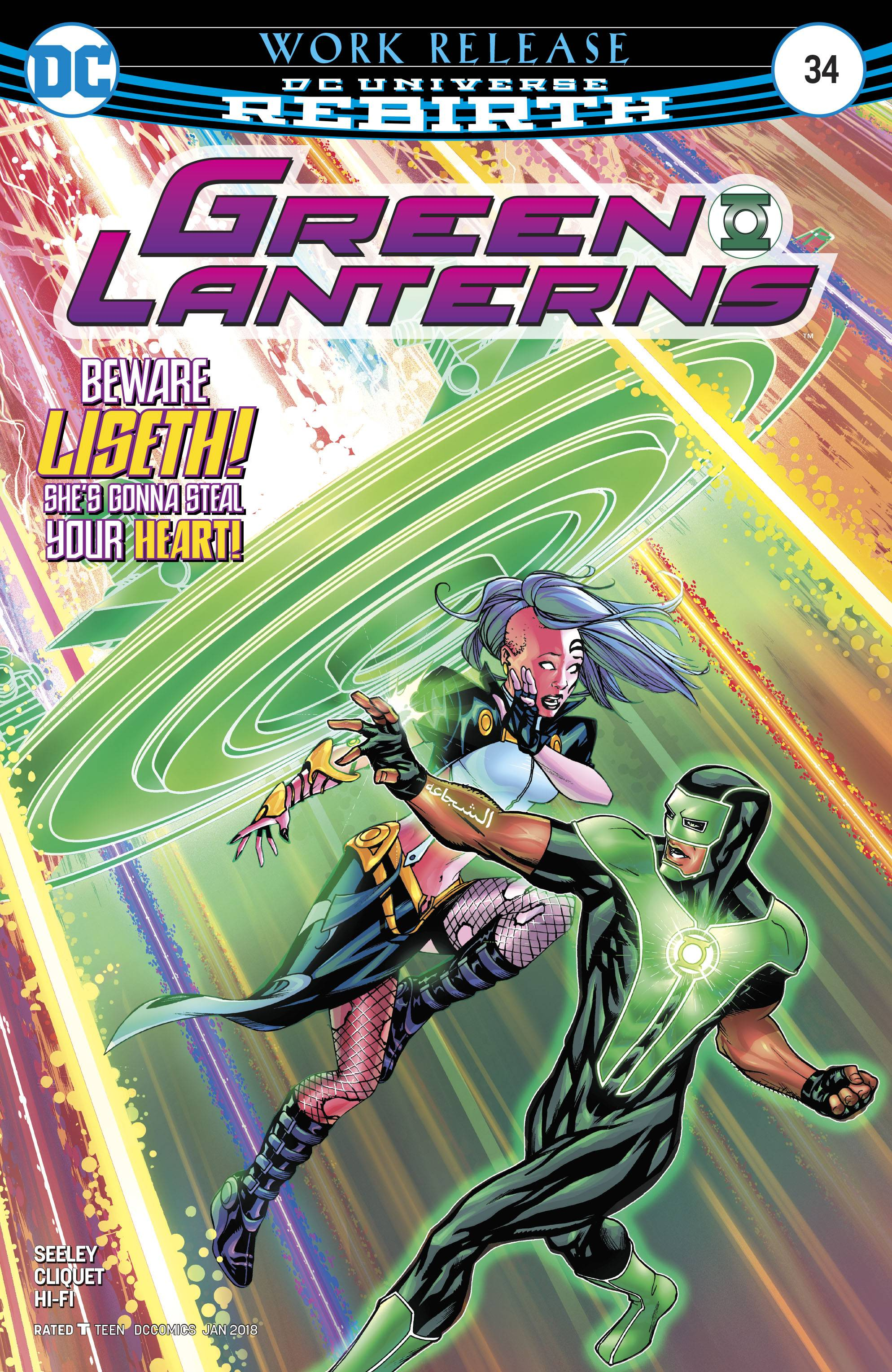 Green Lanterns 34 Comic Book NM | Digital Heroes