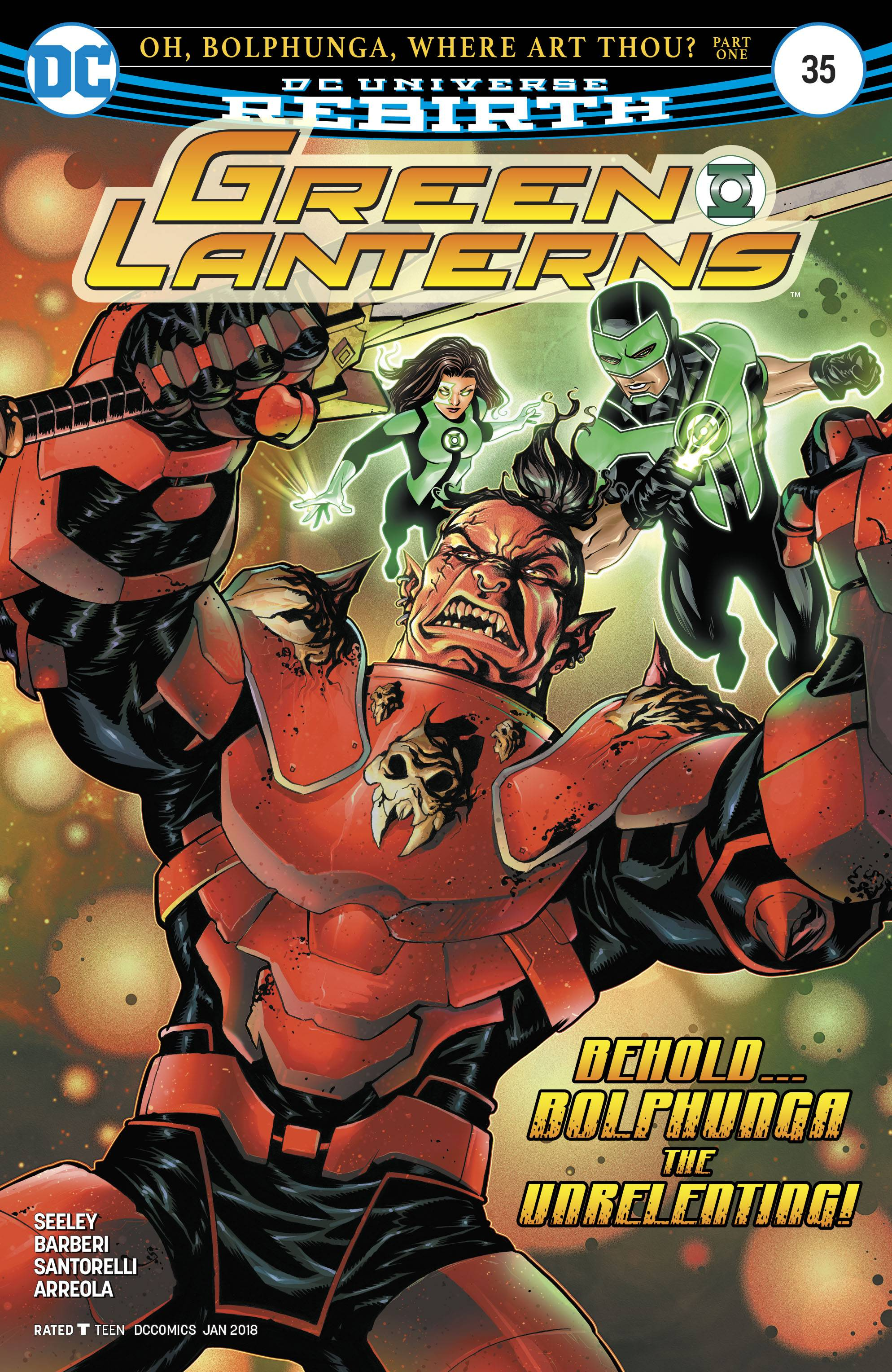 Green Lanterns 35 Comic Book NM | Digital Heroes