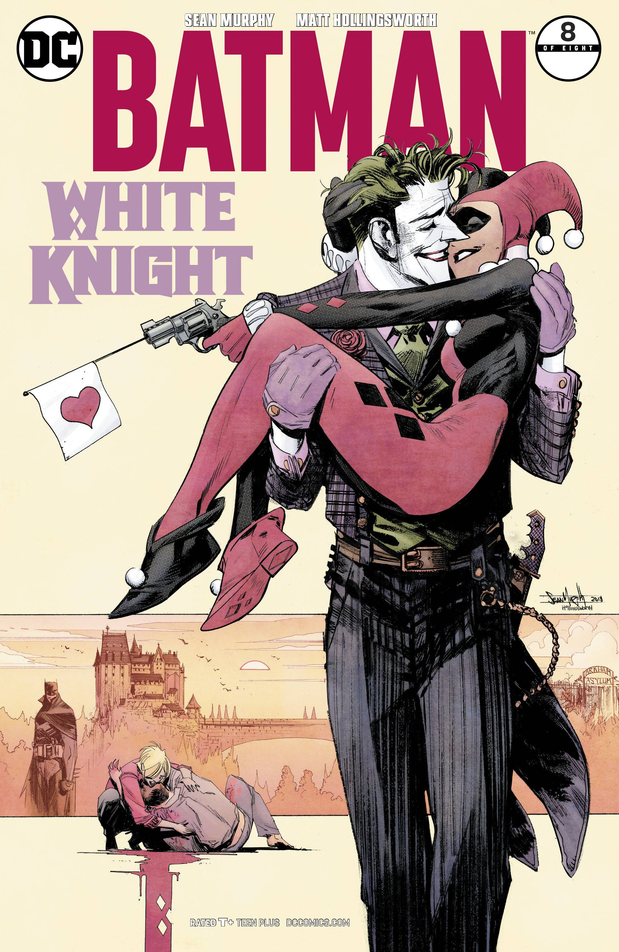 Batman: White Knight 8 Var A Comic Book NM | Digital Heroes