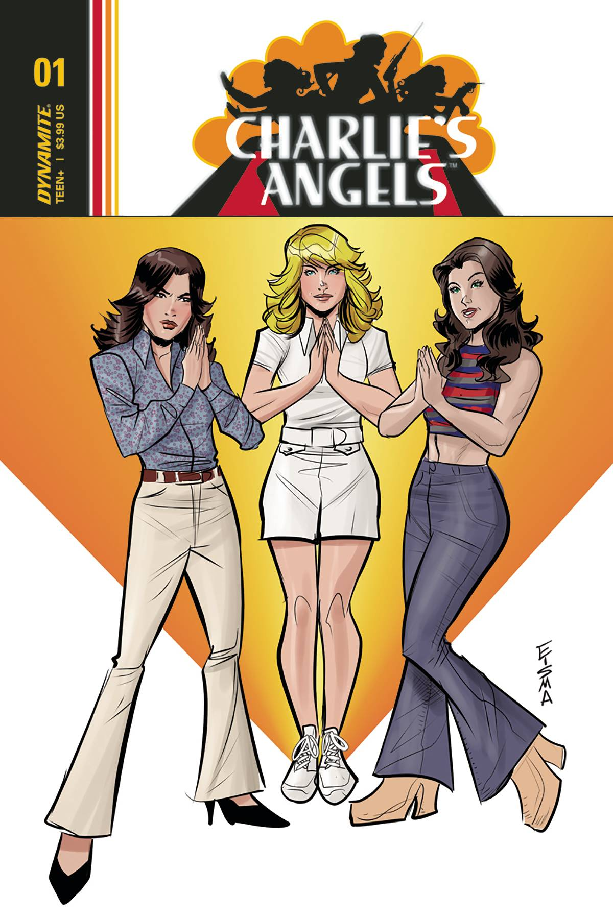 Charlie's Angels 1 Var C Comic Book NM | Digital Heroes