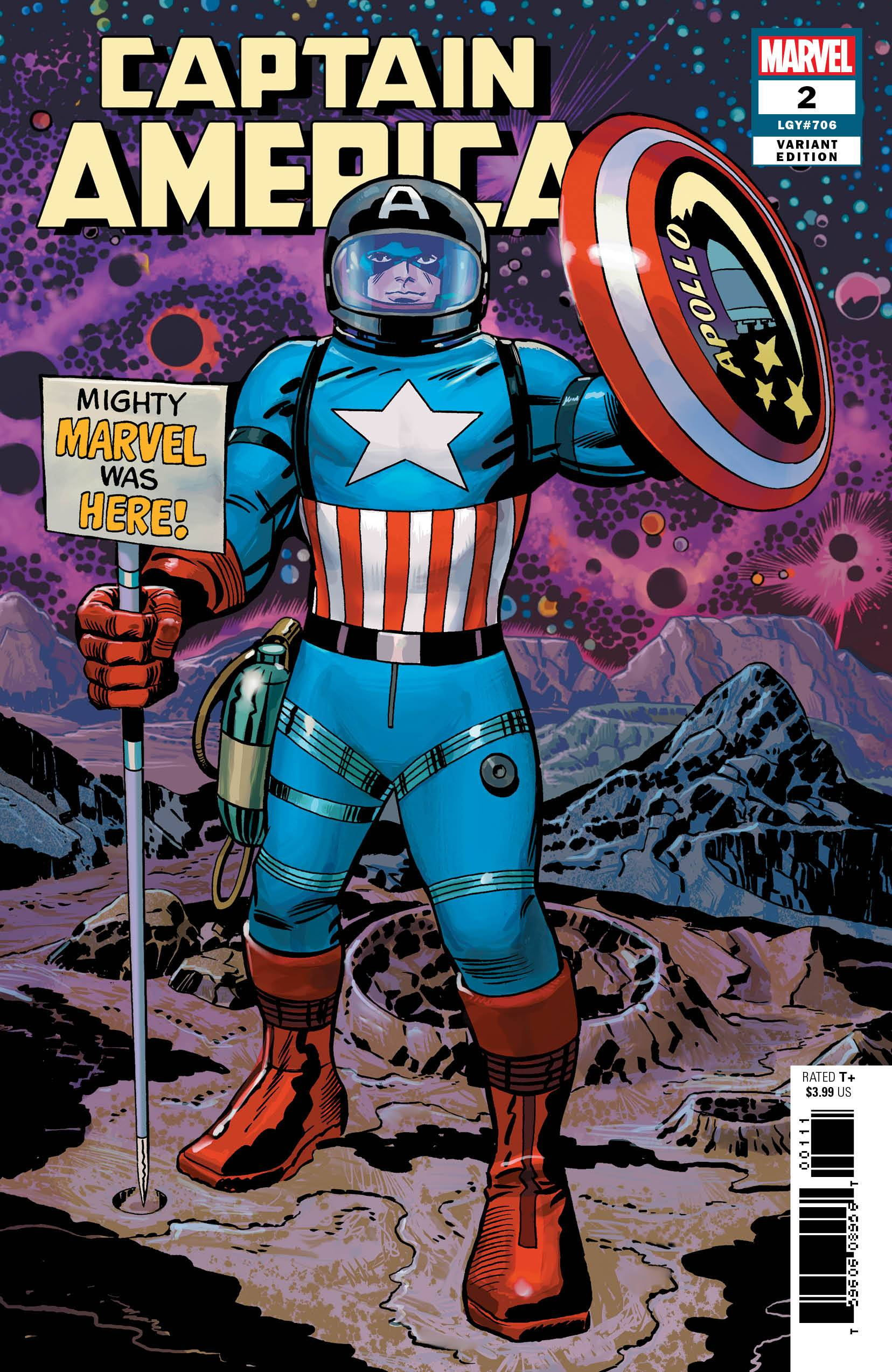 Captain America (9th Series) 2 Var C Comic Book NM | Digital Heroes