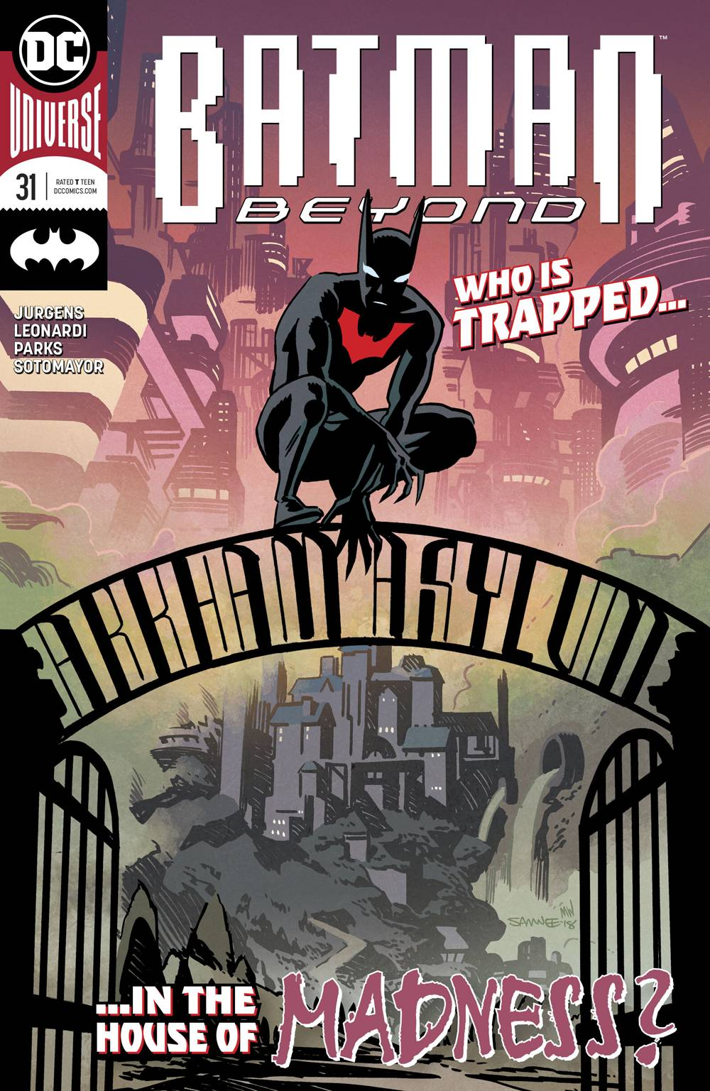 Batman Beyond (6th Series) 31 Comic Book NM | Digital Heroes
