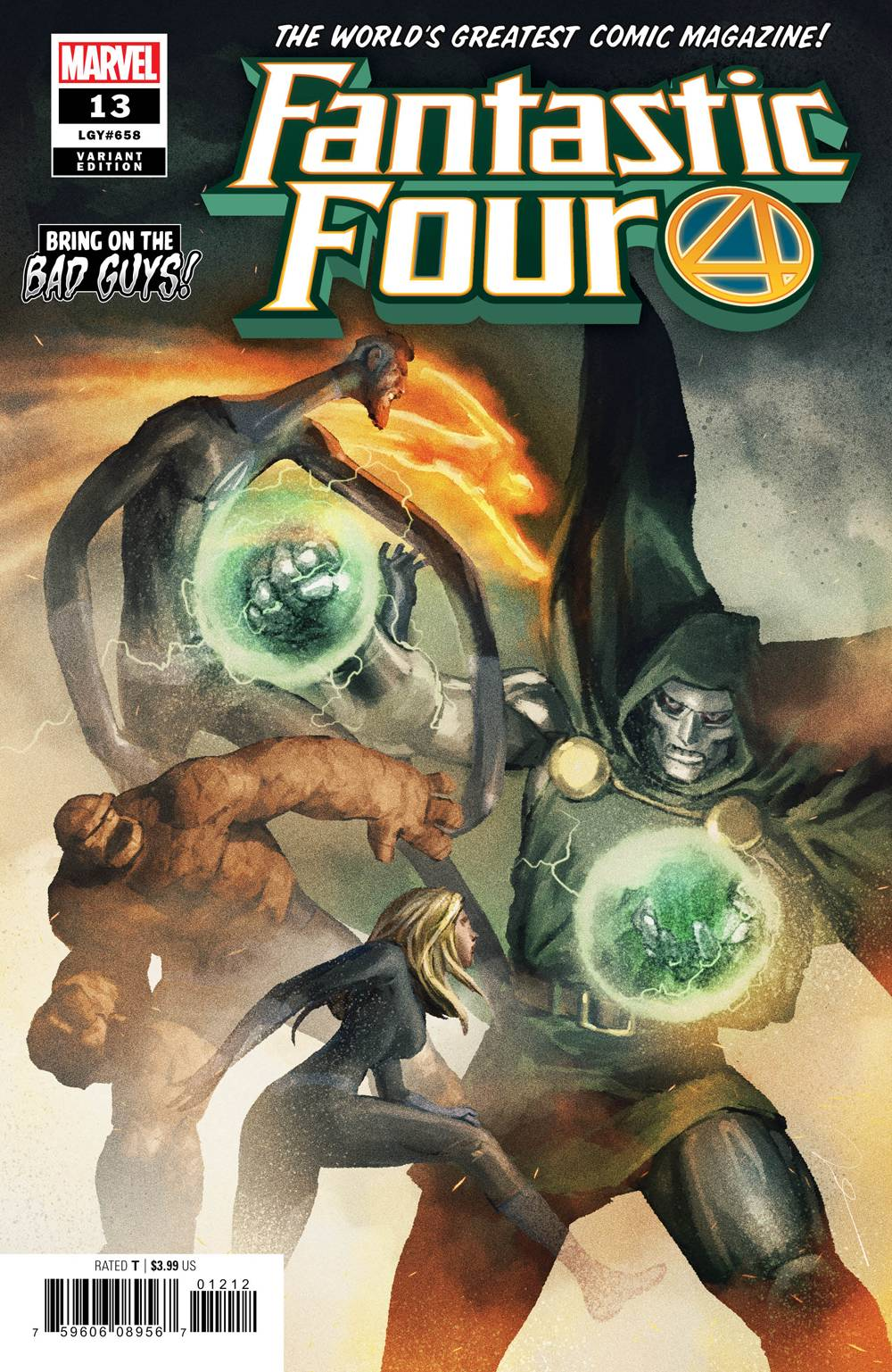 Fantastic Four (6th Series) 13 Var A Comic Book NM | Digital Heroes