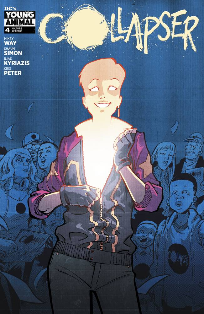 Collapser 4 Comic Book NM | Digital Heroes