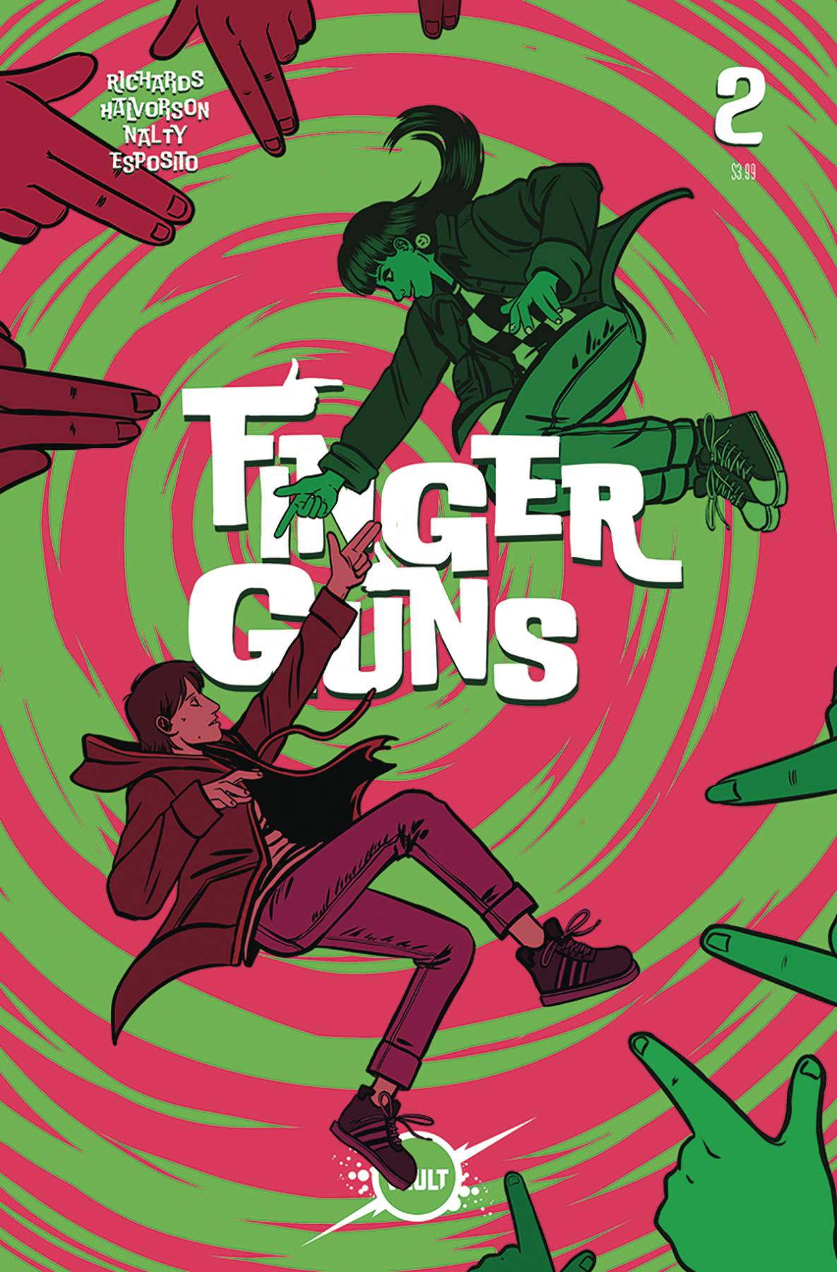 Finger Guns 2 Var A Comic Book NM | Digital Heroes