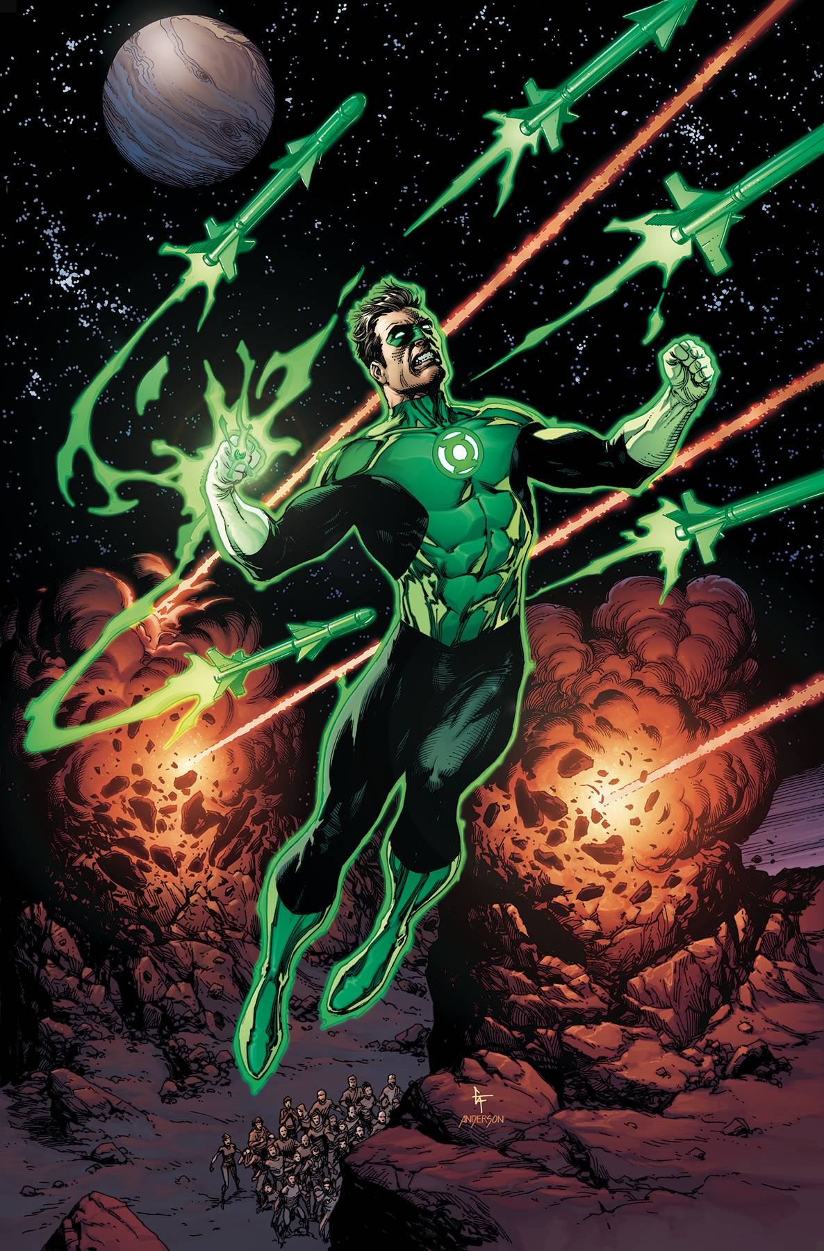 Green Lantern Season Two 5 Var A Comic Book NM | Digital Heroes