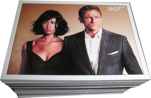 James Bond Archives 2015 Quantum of Solace Complete 100 Card Base Set | Digital Heroes