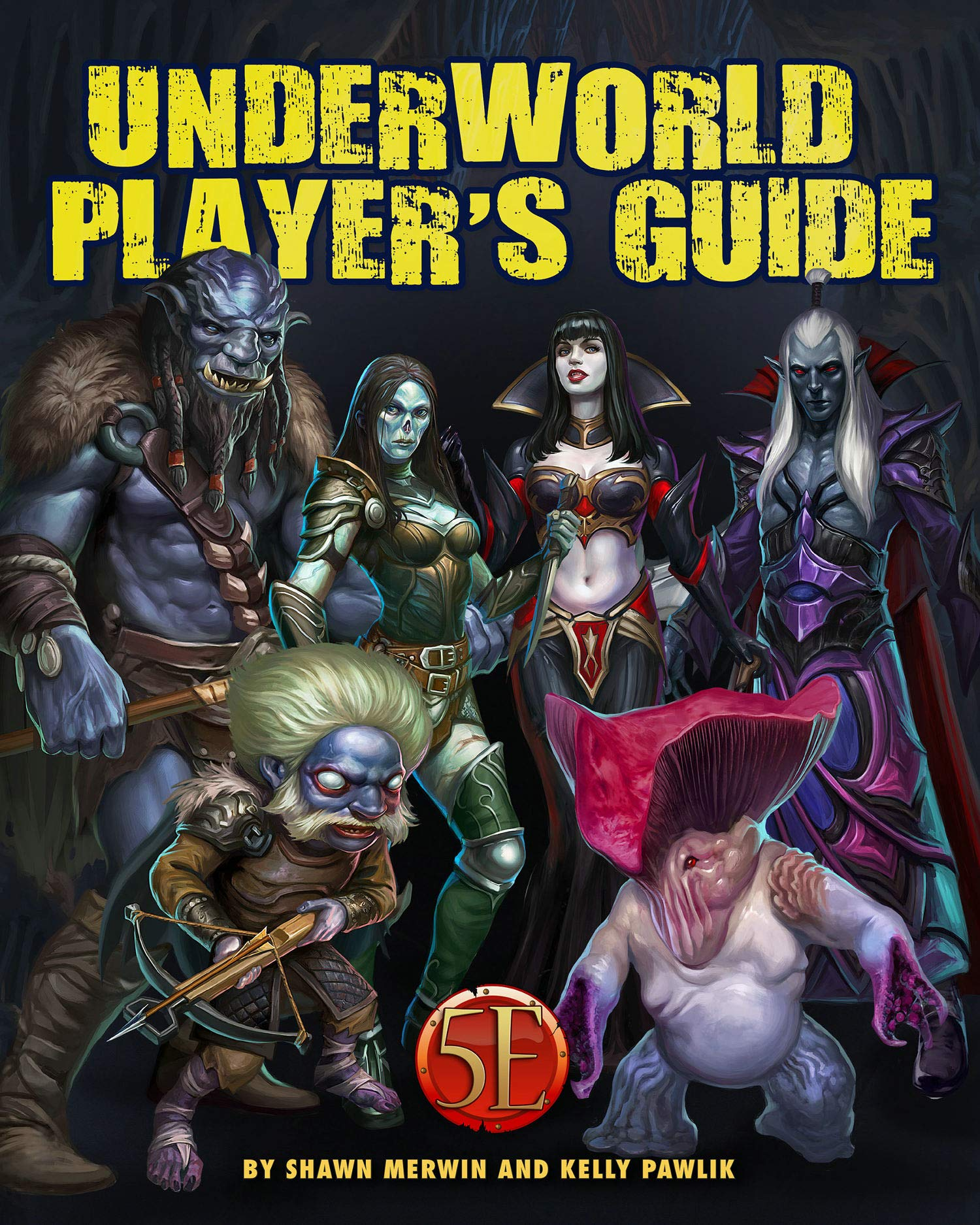 Kobold Press Underworld Player's Guide PB RPG Book | Digital Heroes