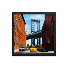 Load image into Gallery viewer, DUMBO Brooklyn Framed Art Print