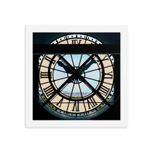 Load image into Gallery viewer, Paris Musée d'Orsay Clock Framed Art Print