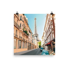 Load image into Gallery viewer, Paris Eiffel Tower Street Art Print