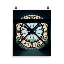 Load image into Gallery viewer, Paris Musée d'Orsay Clock Art Print