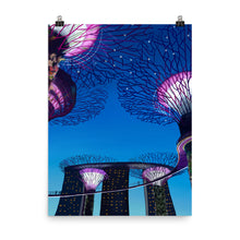 Load image into Gallery viewer, Singapore Gardens by the Bay Art Print