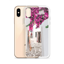 Load image into Gallery viewer, Santorini Streets iPhone Case