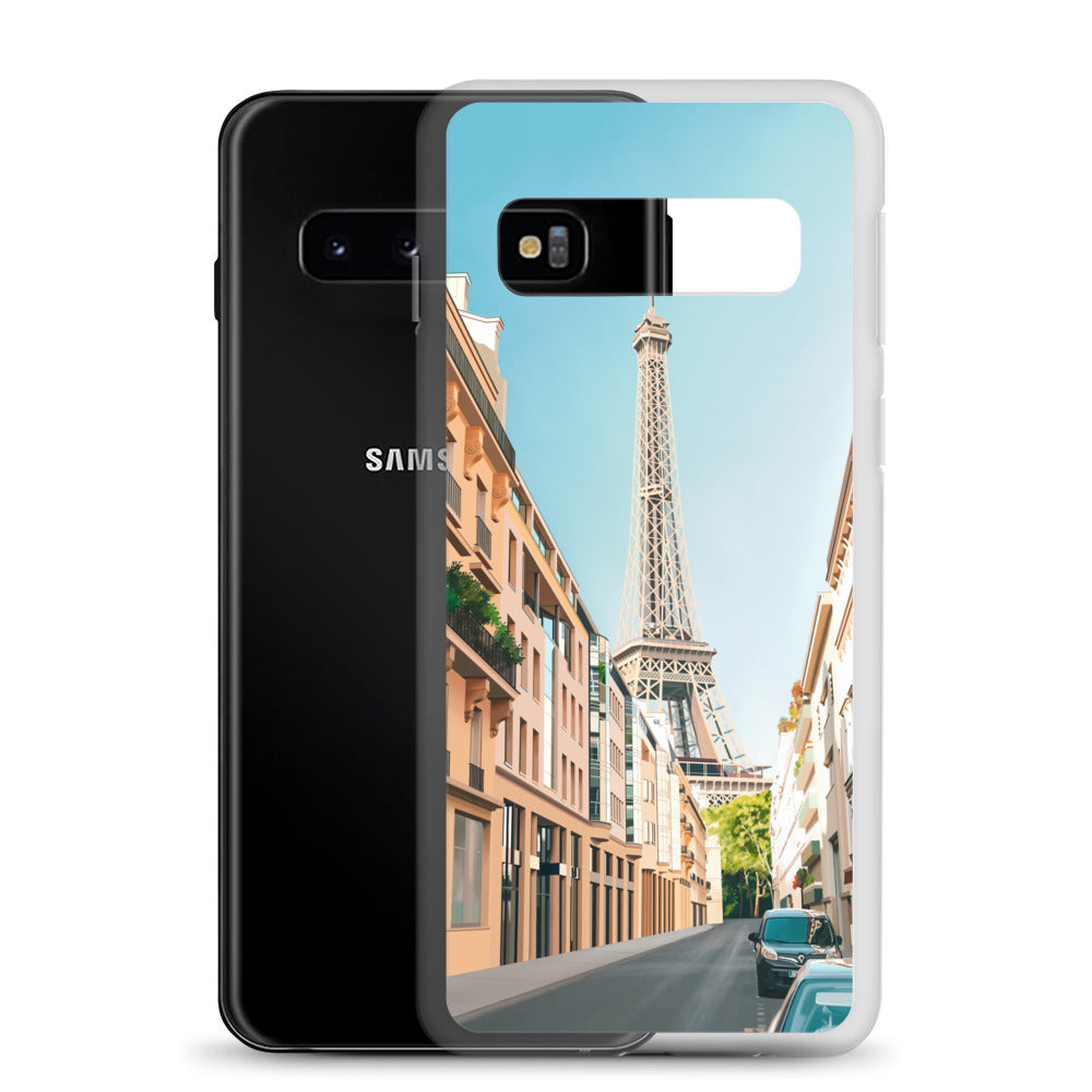 Paris Eiffel Tower Street Samsung Case