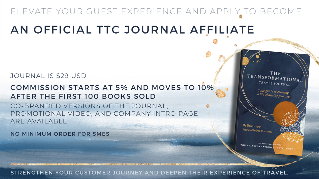 50 x Co-Branded Journals - A Guide to Creating a Life-Changing Journey