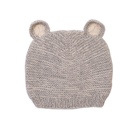 Gray Bear Hat