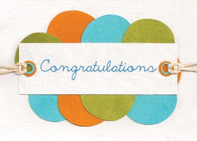 Congratulations Circles Card