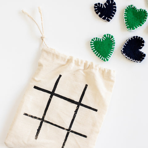 Felt Tic-Tac-Toe Set