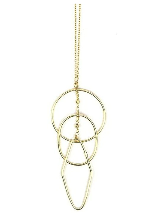 Ripples Gold Necklace