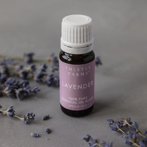 Lavender Essential Oil Bottle