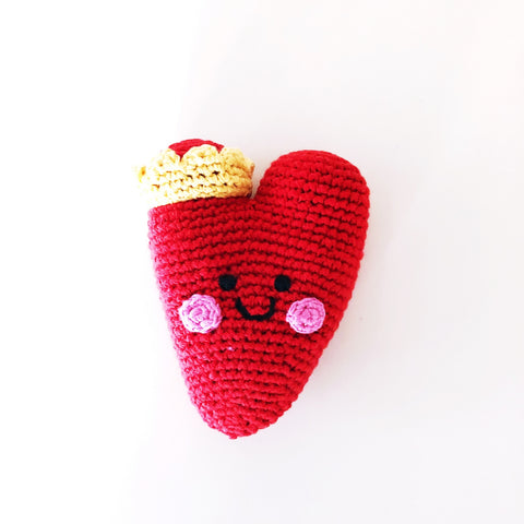 Red Heart Rattle
