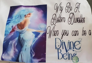 Divine Being Short Sleeve Tshirts