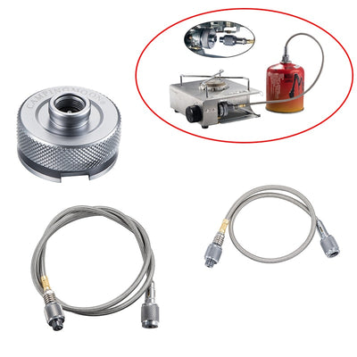 Outdoor Camping Gas Stove Adaptor Extension Tube