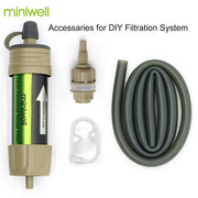 Outdoor drink directly survival water purification purifier kit
