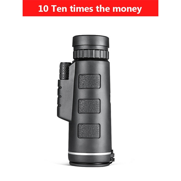 Zoom Monocular Binoculars Clear Weak Night Vision Pocket Telescope