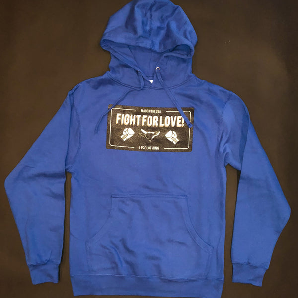 Fight For Love Hoodie (Blue)