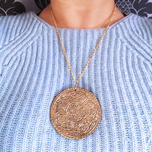 Load image into Gallery viewer, Mandala Medallion Necklace