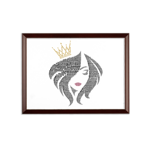 You Are the Queen - Wall Plaque