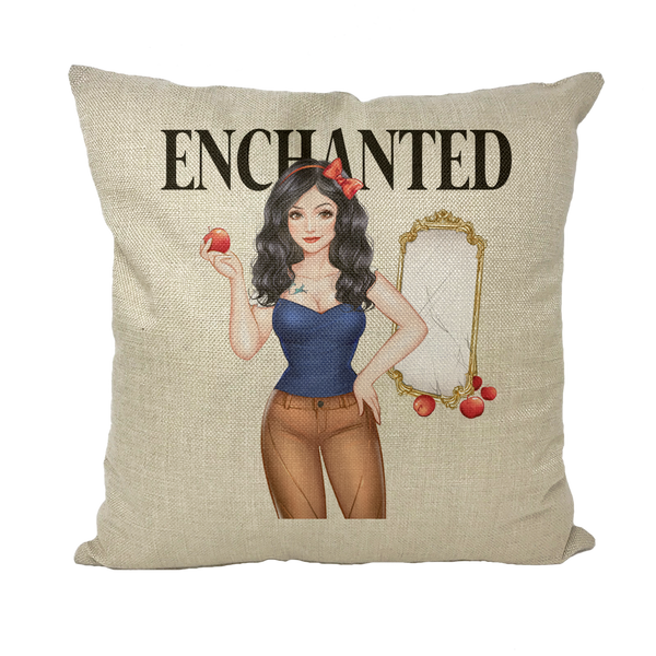 Snow White Cushion Cover