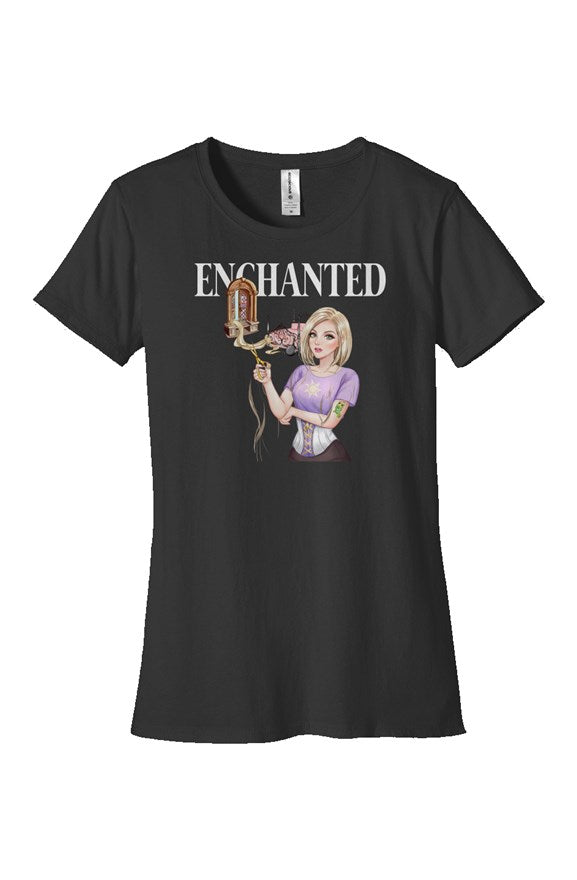 Rapunzel Fitted T-Shirt