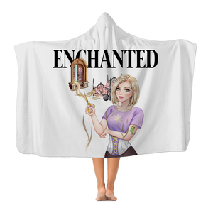 Rapunzel Plush Hooded Blanket
