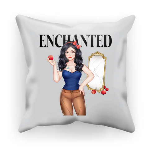 Snow White Luxurious Cushion Cover
