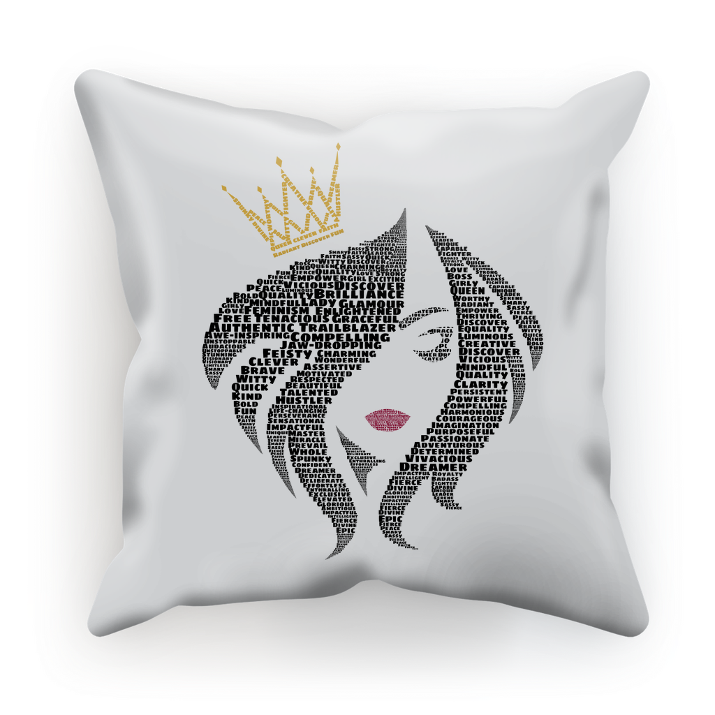 You Are the Queen - Luxurious Cushion Cover