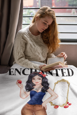 Snow White Premium Plush Blanket
