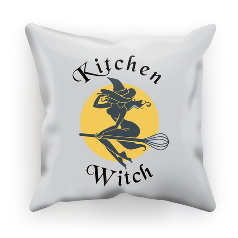 Kitchen Witch Luxurious Cushion Cover