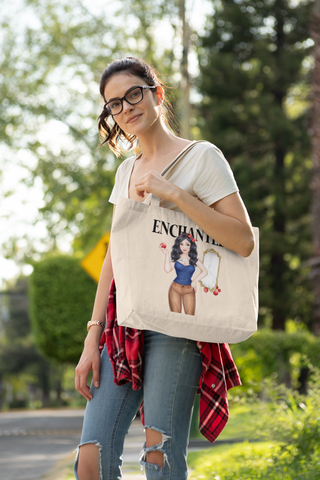Snow White Large, Heavy Tote
